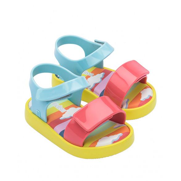Sandália Mini Melissa Jump Sunny Day Baby 33343