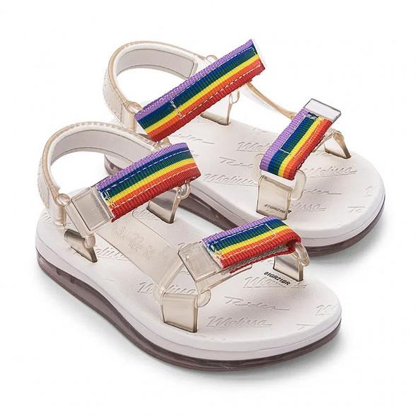 Sandália Mini Melissa Papete + Rider I Baby 33382