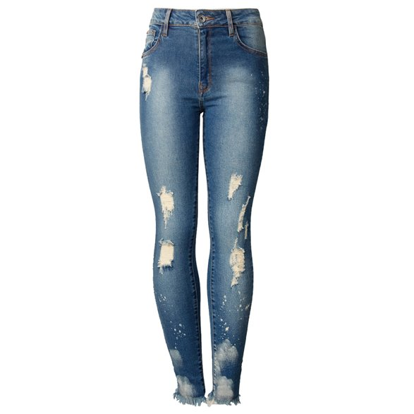 Calça Jeans John John Midi Skinny Curta Lyon Feminina 18.09.3151