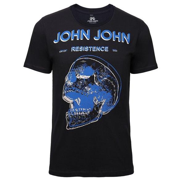 Camiseta John John RG Blue Skull Masculina 42.54.4403