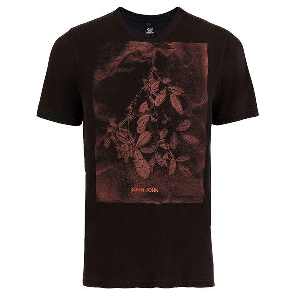 Camiseta John John Rg Red Flowers Masculina