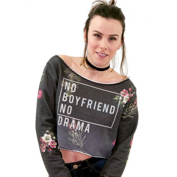 Moletom Cropped Sommer Boyfriend Feminino - 040.31.00149