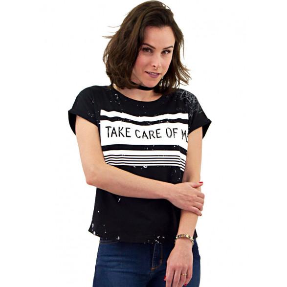 Camiseta Zinco Silk Frontal Feminina - 04083