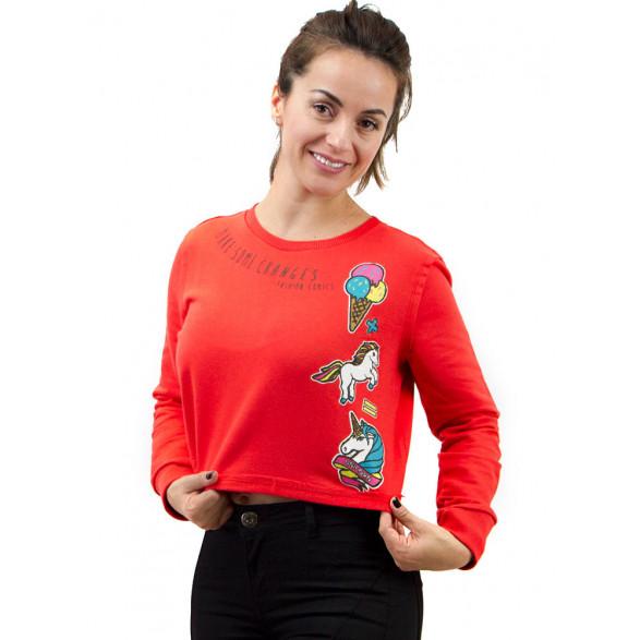 Blusão Sommer Estampa Unicórnio Feminino 0405600011