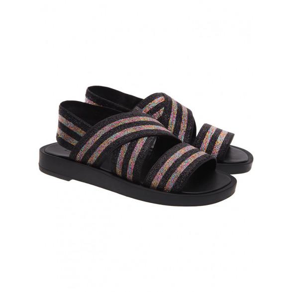 Sandália Fiever Sandal Lurex Color Feminino F601050002