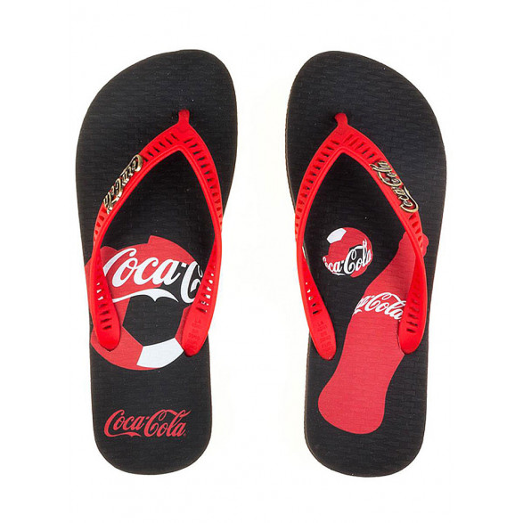 Chinelo Coca-Cola Bottle Poa Feminino CC2393