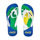 Chinelo Coca-Cola Bola Países Unissex