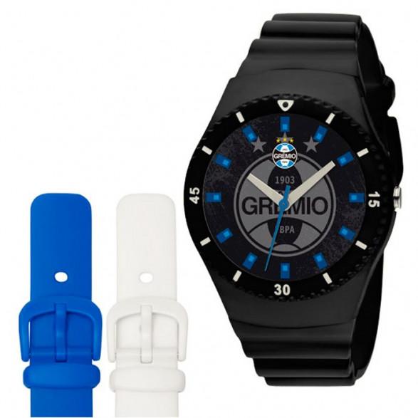 Kit Relógio Technos Masculino Internacional - INT2035AC-8B INT2035AC