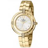Relógio Champion Elegance Dourado Feminino - CN25421H