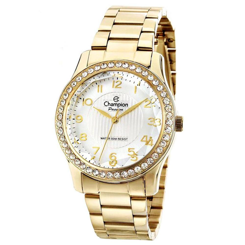 Relógio Champion Dourado Feminino CN28679H CN28679