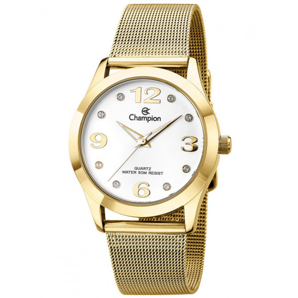 Kit Relógio Champion Elegance Feminino CN26840W