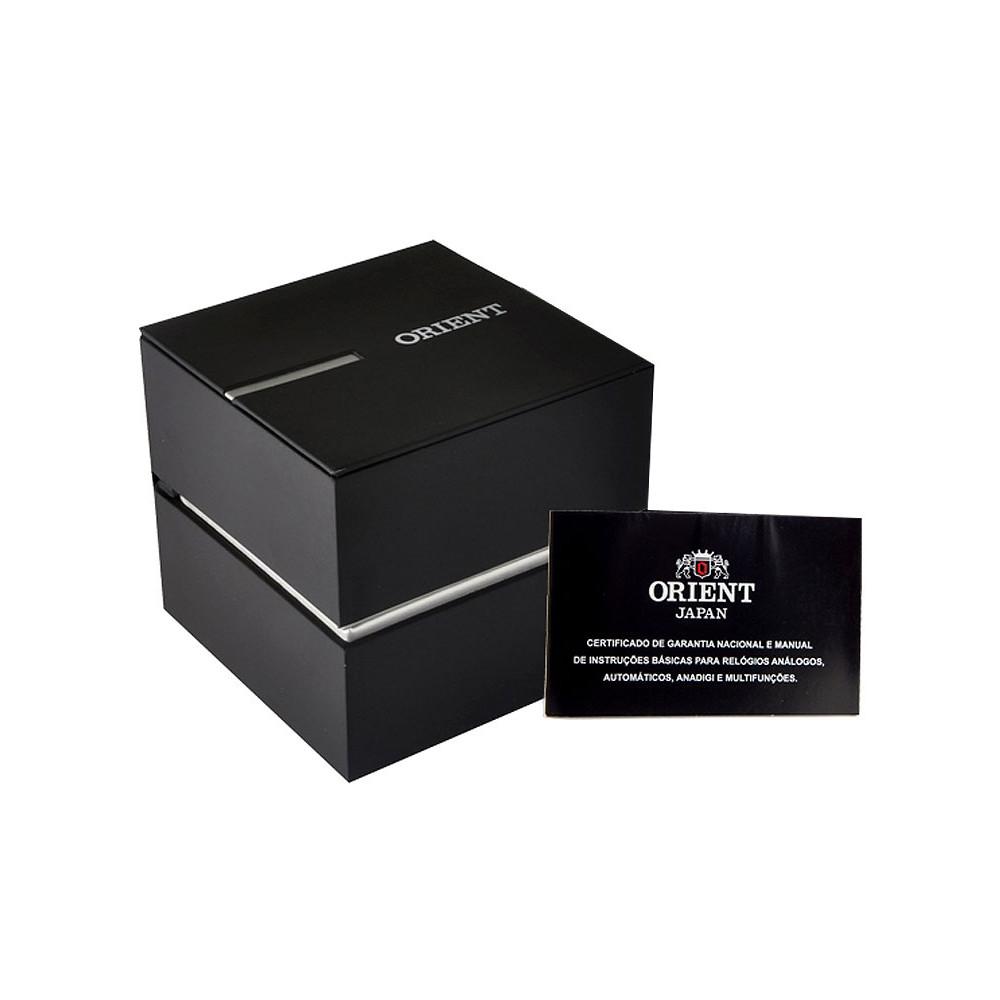Relógio Orient Feminino Prateado com Pedras FBSS0080 A1SX FBSS0080