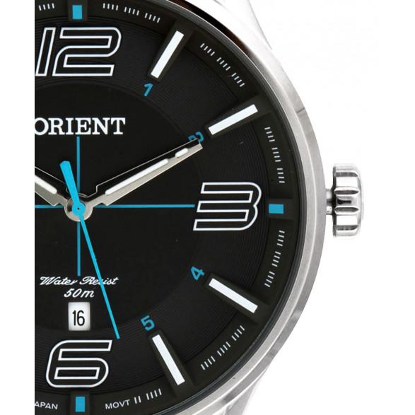 Relógio Masculino Orient Analógico Prateado MBSS1307 G2SX MBSS1307