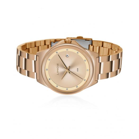 Kit Relógio Lince Dourado Feminino LRGH092L LRGH092L