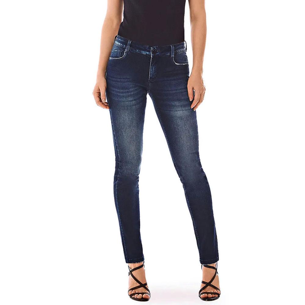 Calca Jeans Morena Rosa Skinny Andreia Cos Intermediario 10000204066000