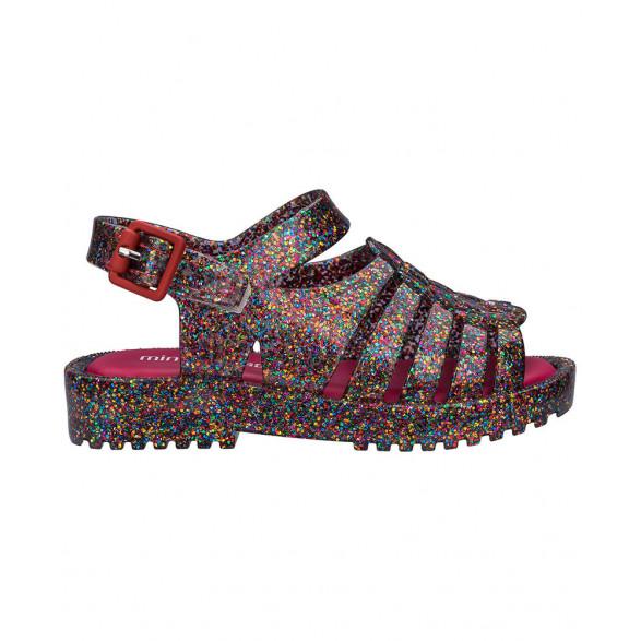 Sandália Melissa Mar Sandal Chrome - 32639-50522 - Preta