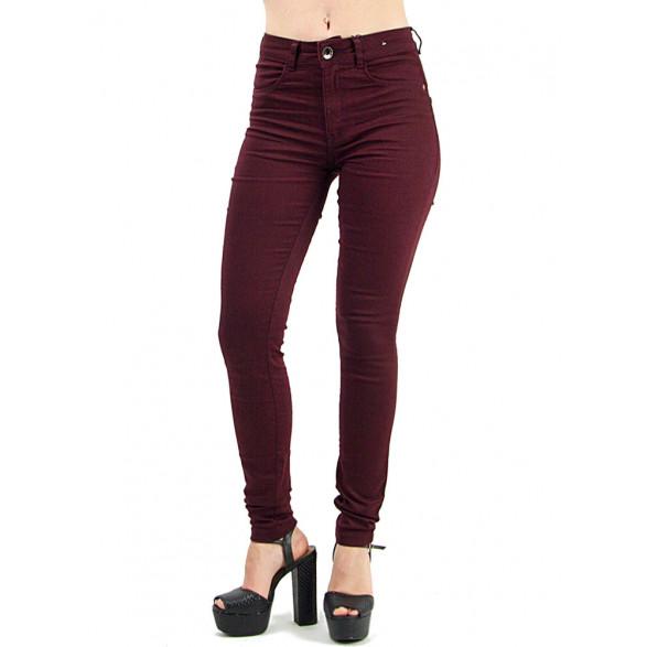 Calça Jeans Zinco Skinny High Wais Feminina - 02343