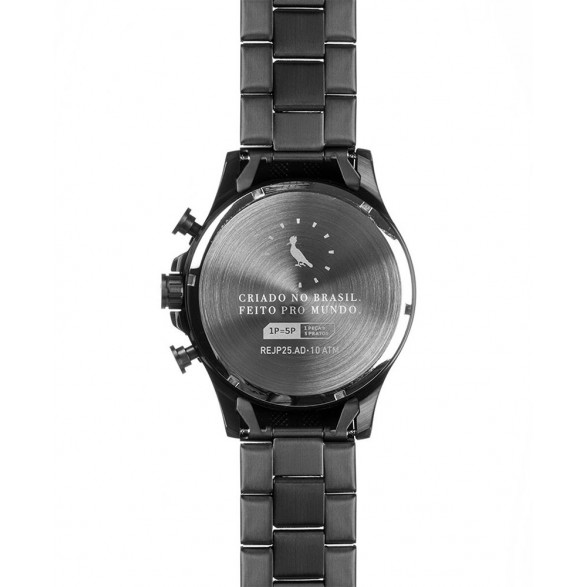 Relógio Technos Feminino Elegance Sapphire 2035LMM - Preto/Dourado