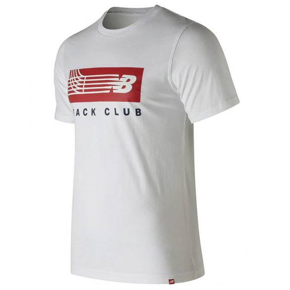 Camiseta New Balance Track Bar Masculina BMT91542