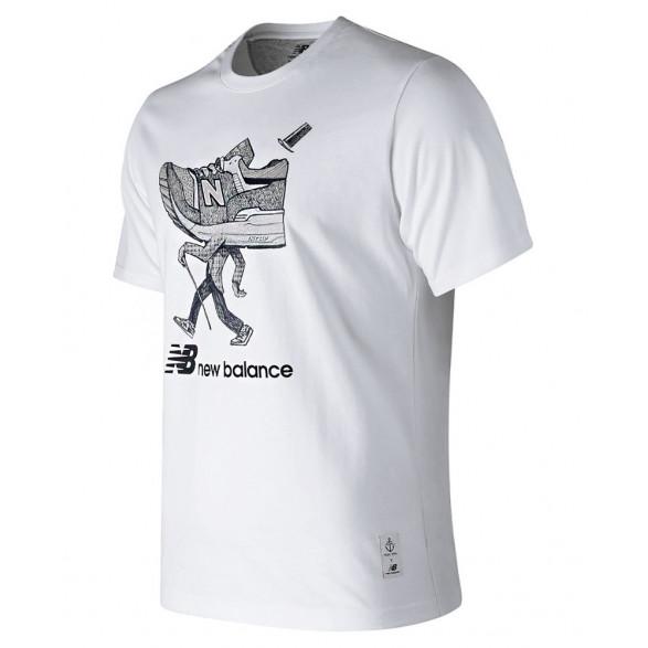Camiseta New Balance Walker Masculina BMT91573