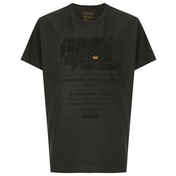T-Shirt Osklen Regular Rock Poster Rock Series 60059