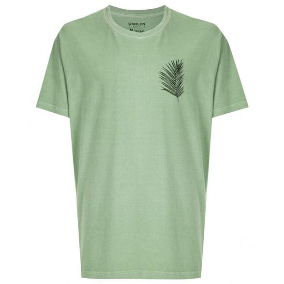 T-Shirt Stone Osklen Palm Leaf Masculina 59354