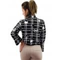 Blusa Morena Rosa Tricot com Ziper Lateral Feminina 10000105598