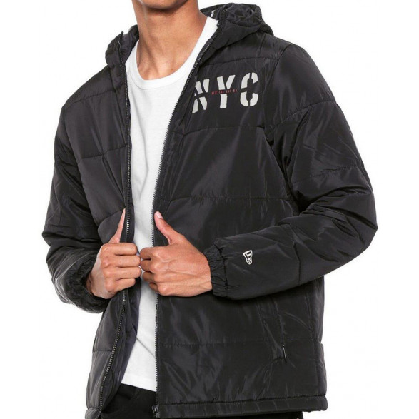 Jaqueta New Era Puffer Cities NYC Masculina NEI19JAQ007