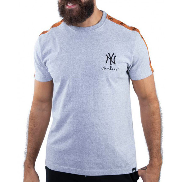 Camiseta New Era New York Yankees Fashion Stripes MBV20TSH087