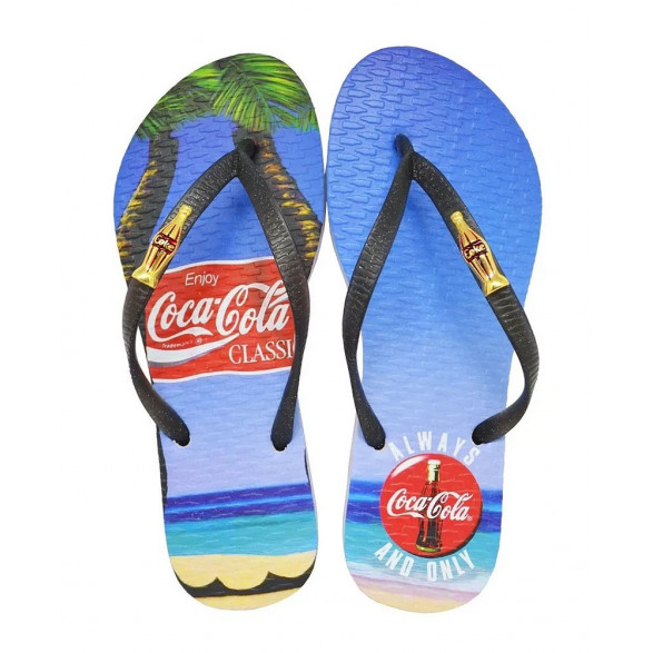 Chinelo Coca-Cola Always Feminino CC2782
