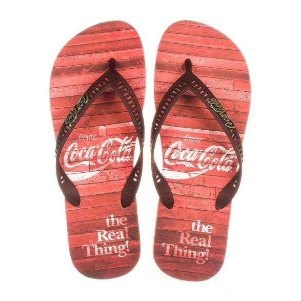 Chinelo Coca-Cola Vintage Floor Masculino CC2761