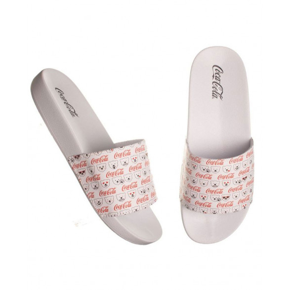 Chinelo Coca-Cola Slide Happy Bears CC2792