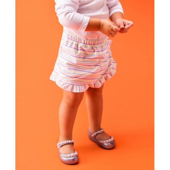 Sapatilha Mini Melissa Ultragirl Girly 32865