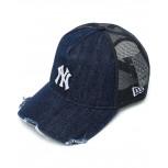 Boné New Era 940 Snapback Denim Logo New York Yankees