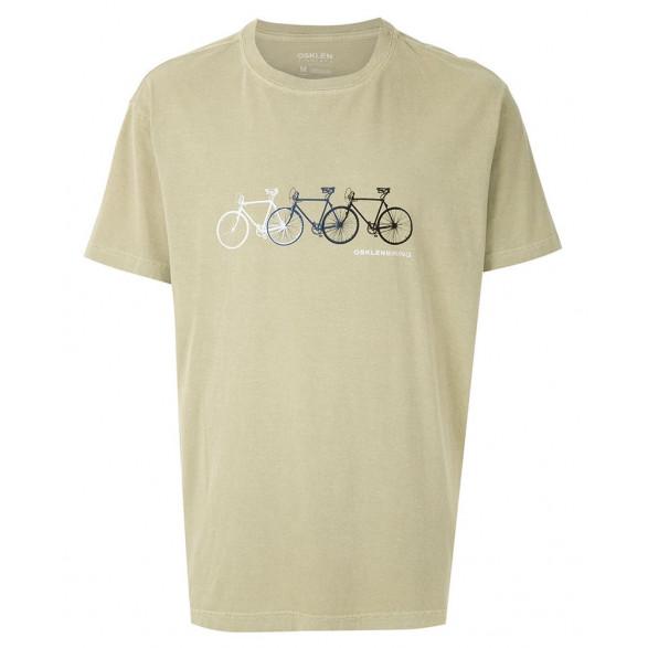 T-shirt Osklen Stone Biking Masculina 60922