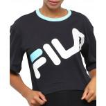 Blusa Fila Cropped Letter Big Feminina