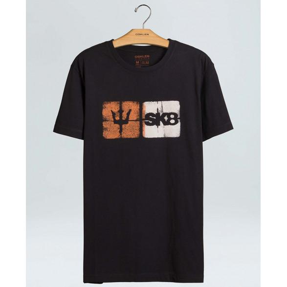 T-Shirt Osklen Vintage Vintage Sk8 Icons Masculina 60988