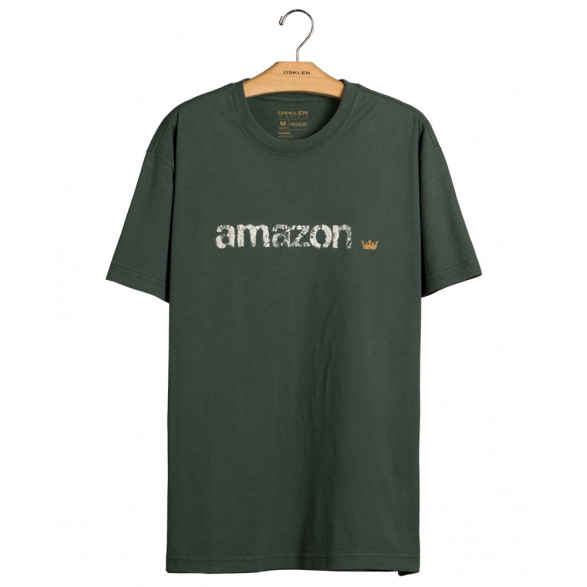 T-Shirt Osklen Regular Amazon Masculina 60927