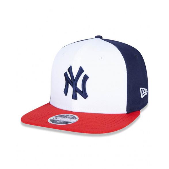 Boné New Era 9fifty Original Fit New York Yankees Juvenil MBI20BON099