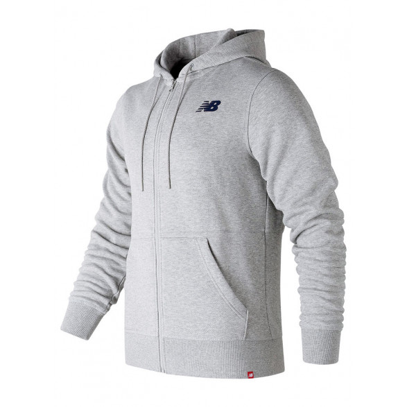 Jaqueta New Balance Essentials Full Zip Hoodie Masculina BMJ73528