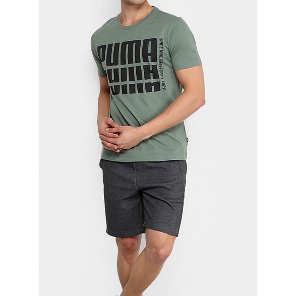 Camiseta Puma Rebel Bold Basic Masculina 853385
