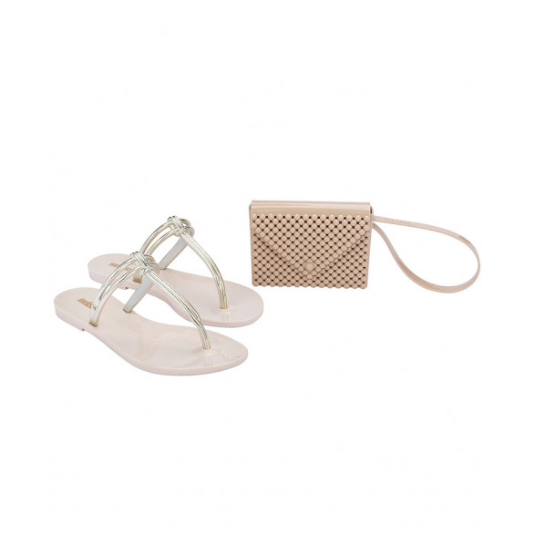 Chinelo Melissa Astral Chrome 33293